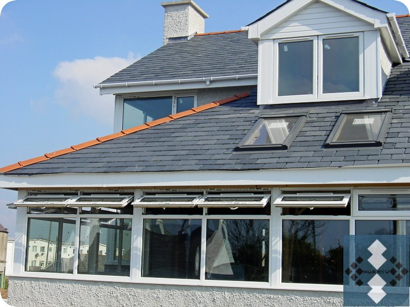 Blue Black Roof Slate Project